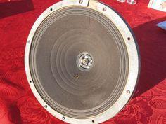 "1 FieldCoil BIG Speaker FullRange Klangfilm Telefunken Siemens10.5"" Works 30's #Klangfilm"