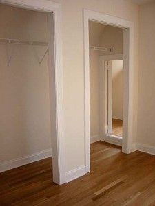 HIdden room accessed by a walk-in closet