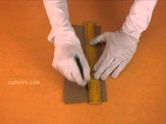 How to Make a Queen Nefertiti's Crown - YouTube