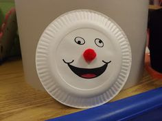 Smoke Detector Paper Plate Craft