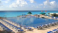 Pool at Great Parnassus in Cancun.    Stayed here!!
