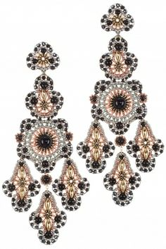 gold filled beaded #chandeliers I designed by miguel ases I NEWONE-SHOP.COM