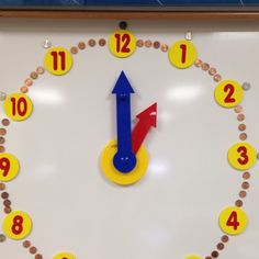 Teaching time using money.  1 min. Pennies and 5 min. Nickles.