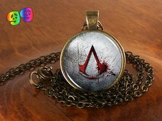 Assassins Creed (6) Gaming Necklace Pendant Charm Jewelry
