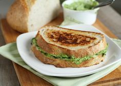 Avocado Green Goddess Grilled Cheese? Yes, please!