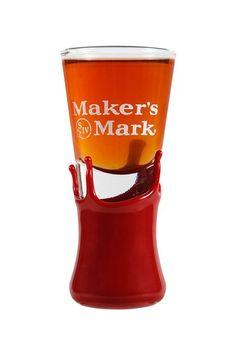 Maker's Mark Wax Dipped Shot Glass