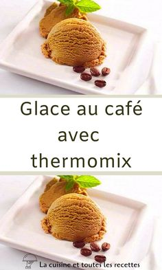 Thermomix Desserts, Cooking Chef, Biscuits, Food And Drink, Ice Cream, Lus, Information, Simple, Table