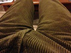 thick corduroy pants - Pi Pants