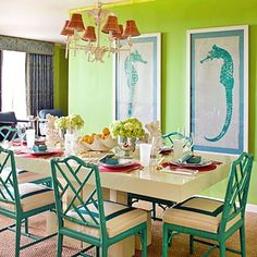 My favorite part of this room?  The chairs! Love the chairs!