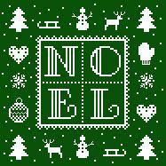 Cross Stitch Free chart クロスステッチフリーチャート: Noël