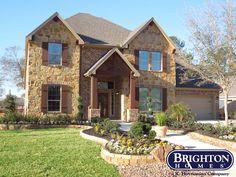 Brighton Homes Lane model home at Bayou Park | www.brightonhomes.com