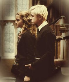 Draco & Hermione - Dramione Uh oh, someone is getting felt up in the…