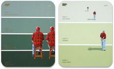 Oh, I love this. Shawn Huckins' Paint Chip series. (Via HonestlyWTF)