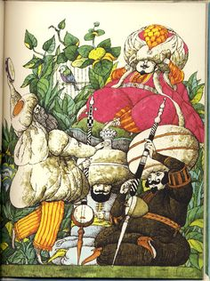 The Round Sultan and the Straight Answer by Walker, Barbara K. Illustrated by Friso Henstra