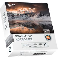Cokin P Series Hard and Soft-Edge Graduated Neutral Density Filter Kit with P Series Filter Holder