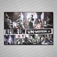 ATL Unplugged poster. For me in my room.