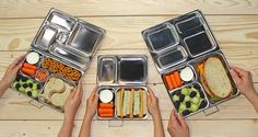 PlanetBox lunchboxes come in 3 different sizes, great for school or work