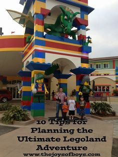 Take Nathan to Lego Land!!  10 Tips for Planning the Ultimate Legoland Vacation