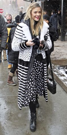 Street Style Trends You'll Want to Copy from the Sundance Film Festival - Jaime King from InStyle.com