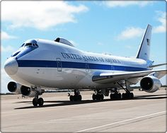 The E-4B Advanced Airborne Command Post is designed to be used by the National Command Authority as a survivable command post for control of U.S. forces in all levels of conflict including nuclear war. In addition to its primary mission, secondary missions assigned to the E-4B include VIP travel support and Federal Emergency Management Agency support, which provides communications to relief efforts following natural disasters such as hurricanes and earthquakes.