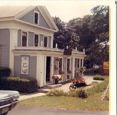 Peacock Alley, Orleans, Cape Cod, circa 1968.  Summer vacations!  Best leather shop ever!