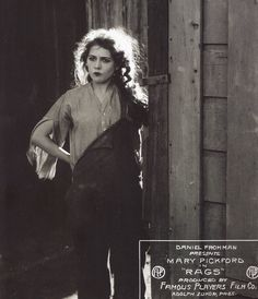 alwaysmarypickford:    Mary Pickford in Rags, 1915.