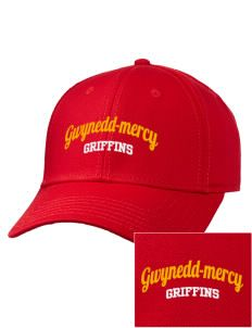 Gwynedd-Mercy University Griffins Embroidered Wool Blend Gray Undervisor Low Profile Pro Style Cap