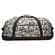 Portable Luggage Duffel Bag Art Hippo Travel Bags Carry-on In Trolley Handle