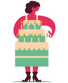 Aad Goudappel, illustrator - birthday outfit