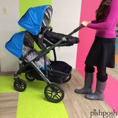 Guess what, mamas. We got to play with the UPPAbaby Vista 2015! There are 8 ways to configure this awesome stroller! Check out our site - some colors are already in stock!  http://www.pishposhbaby.com/uppababy-vista-2015.html