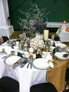 Table setting for a church tea & church tea party themes | Little Loveliness tea party table settings ...