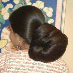 46 Best Indian Long Hair Bun Images Bun Hairstyles For Long Hair