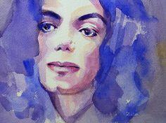 MICHAEL JACKSON ~ Art in Acrylic
