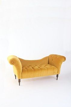 fainting couch in antique gold from Urban Outfitters $579