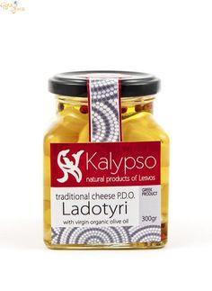 """Λαδοτύρι Π.Ο.Π. Μυτιλήνης συσκευασμένο σε βιολoγικό ελαιόλαδο με πιπέρια. 300gr από το -eshop """"Kalypso"""" / ο Λαδοτύρι Μυτιλήνης  είναι το μοναδικό τυρί Προστατευόμενης Ονομασίας Προέλευσης που προέρχεται αποκλειστικά από το νησί της Λέσβου. Είναι το πιο φημισμένο τυρί του νησιού ..... www.gigagora.gr/node/1796"""