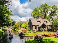 Giethoorn, Holanda.