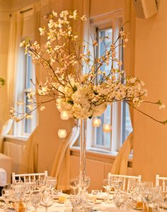 Lovely Table Centerpiece With Eiffel Tower Vase WeddingChannel Galleries Charlotte Frederics Wedding