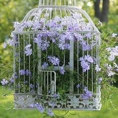 DIY Gartendeko selber machen – VogelkäfigdekoYou are in the right place about bird in flight Here we offer you the most beautiful pictures about the bird paper you are looking for. When you examine the DIY Gartendeko selber machen – Vogelkäfigdeko Diy Garden Decor, Garden Art, Garden Design, Vintage Garden Decor, Garden Types, Diy Garden Projects, Antique Decor, Garden Decorations, Beautiful Gardens