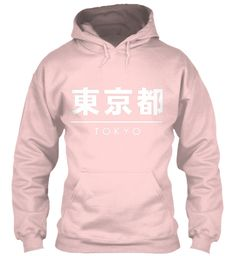Tokio Light Pink Sweatshirt Front