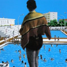 Vincent Michea - Before the Bigger Splash - Contemporary Art Famous Contemporary Artists, Famous Sculptures, Paintings Famous, Saatchi Gallery, Africa Art, Galleries In London, Art Fair, Fine Art Gallery, Tag Art