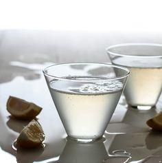 Sparkling Lemon Drop - Chloe's drink of choice.