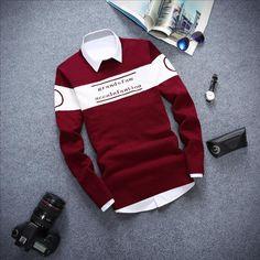 Günstige 2015 koreanische Herbst Rollkragen Hip Hop Sweatshirt Männer Hoodies Mens Fashion Sweatsuits, Kaufe Qualität Hoodies & Sweatshirts direkt vom China-Lieferanten:   Größebüstekleidung LängeHülsenlängem466261l486462xl5066632XL526864Beachten S
