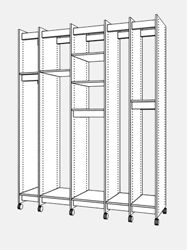 Art Storage System for the storage of art for museums, galleries, art collectors, artists, art schools, libraries, and art collections of any kind.