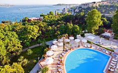 Swissotel the Bosphorus Istanbul -   Pool and Gardens