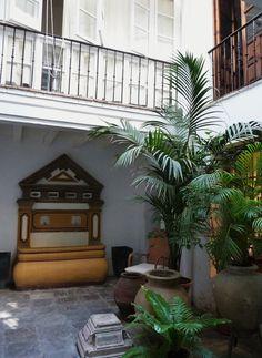 Patio de la casa natal de Velázquez, Sevilla