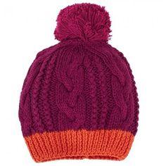 Kickle Bordeaux Pompom Hat