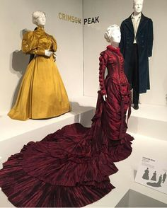Crimson Peak(2015) Costumes Designed By Kate Hawley