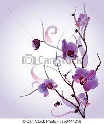 disegni orchidee - Cerca con Google