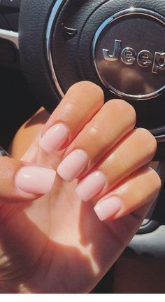 Want some ideas for wedding nail polish designs? This article is a collection of our favorite nail polish designs for your special day. Acrylic Nails Coffin Short, Simple Acrylic Nails, Pink Acrylic Nails, Simple Nails, Nail Pink, Coffin Nails, Short Pink Nails, Short Fake Nails, Natural Acrylic Nails