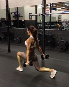 """5,317 Likes, 122 Comments - Alexia Clark (@alexia_clark) on Instagram: """"Lunge time - I thought you said Lunch Time 1. 12 reps each leg 2. 10 reps each leg 3. 15 reps…"""""""